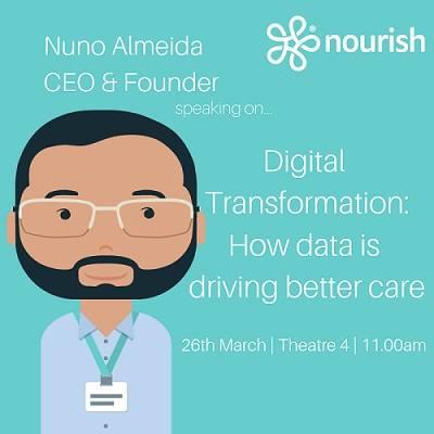 26th & 27th March - Dementia Care & Nursing Home Expo - Nuno Almeida of Nourish Care talks Data In Care