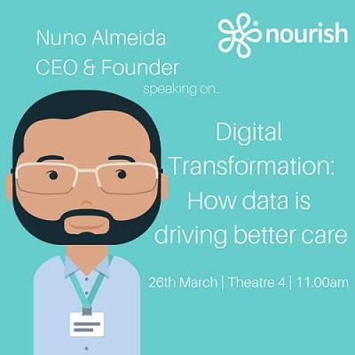 Interview with Nuno Almeida - founder of Nourish Care - Digital Care Planning System