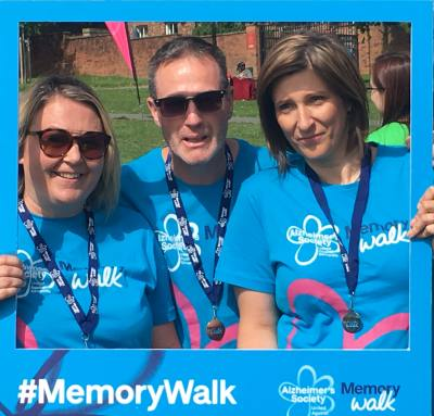 DC Care walked the Leeds Memory walk for Alzheimers Society